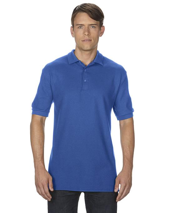 Koszulka Polo Premium Cotton Double Pique Adult GILDAN 85800 - Gildan_85800_12 - Kolor: Royal blue