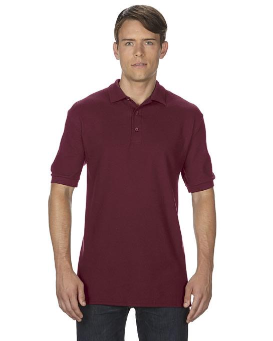 Koszulka Polo Premium Cotton Double Pique Adult GILDAN 85800 - Gildan_85800_15 - Kolor: Maroon