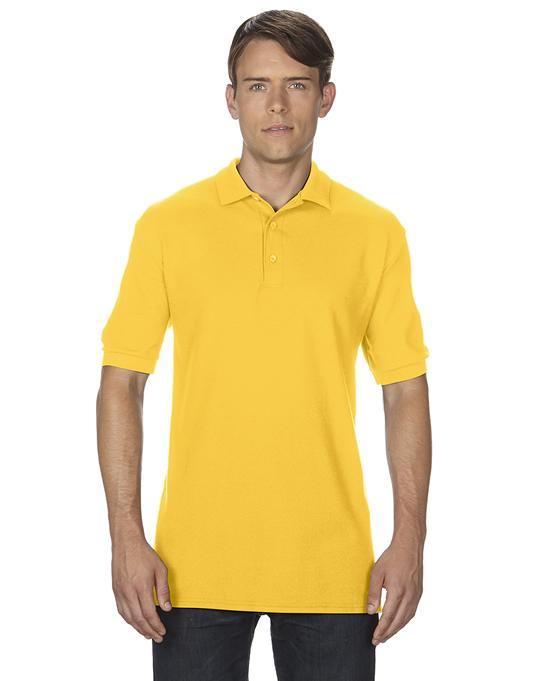 Koszulka Polo Premium Cotton Double Pique Adult GILDAN 85800 - Gildan_85800_16 - Kolor: Daisy