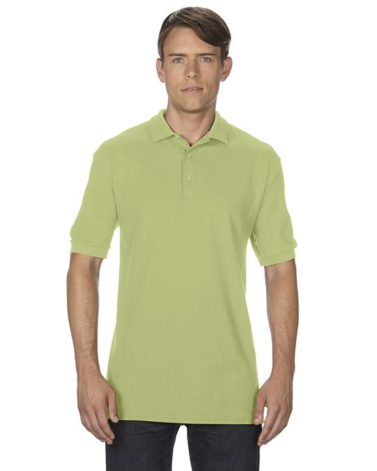 Koszulka Polo Premium Cotton Double Pique Adult GILDAN 85800 - Gildan_85800_17 - Kolor: Kiwi