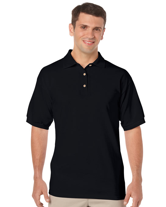 Koszulka Polo DryBlend Jersey Adult GILDAN 8800 - Gildan_8800_02 - Kolor: Black