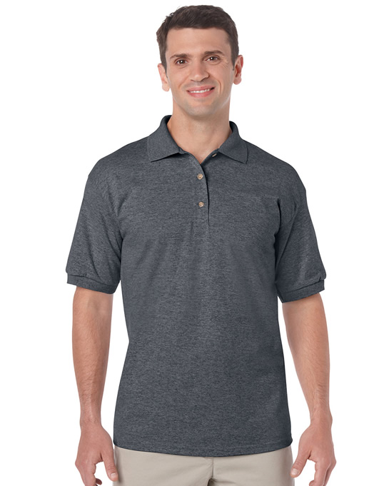 Koszulka Polo DryBlend Jersey Adult GILDAN 8800 - Gildan_8800_05 - Kolor: Dark heather