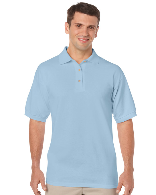 Koszulka Polo DryBlend Jersey Adult GILDAN 8800 - Gildan_8800_06 - Kolor: Light blue
