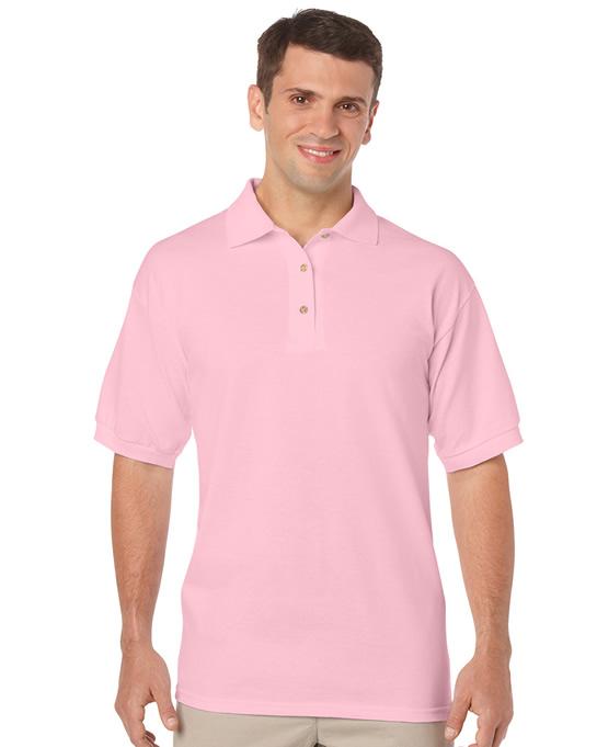 Koszulka Polo DryBlend Jersey Adult GILDAN 8800 - Gildan_8800_08 - Kolor: Light pink