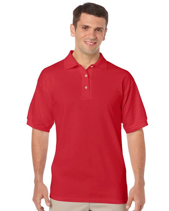 Koszulka Polo DryBlend Jersey Adult GILDAN 8800 - Gildan_8800_11 - Kolor: Red