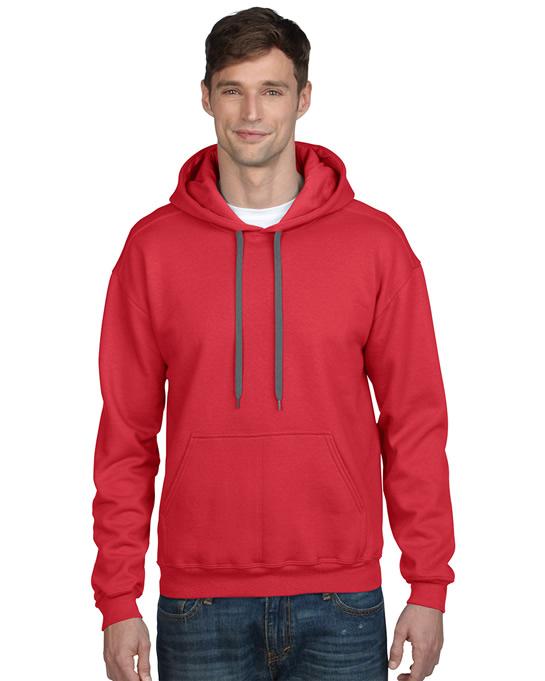 Bluza Premium Cotton Classic Fit Hooded Adult GILDAN 92500 - Gildan_92500_05 - Kolor: Red