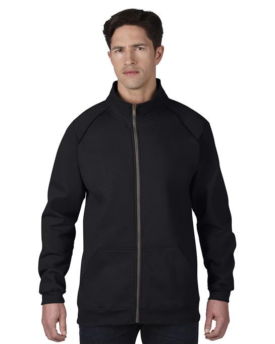 Bluza Premium Cotton Classic Fit Full Zip Adult GILDAN 92900 - Gildan_92900_01 - Kolor: Black / Charcoal