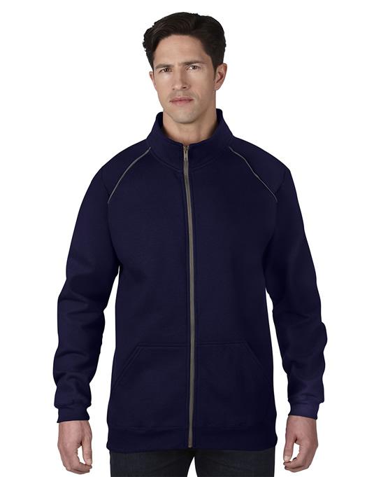 Bluza Premium Cotton Classic Fit Full Zip Adult GILDAN 92900 - Gildan_92900_03 - Kolor: Navy / Charcoal