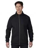 Bluza Premium Cotton Classic Fit Full Zip Adult GILDAN 92900 - Gildan_92900_01 Black / Charcoal