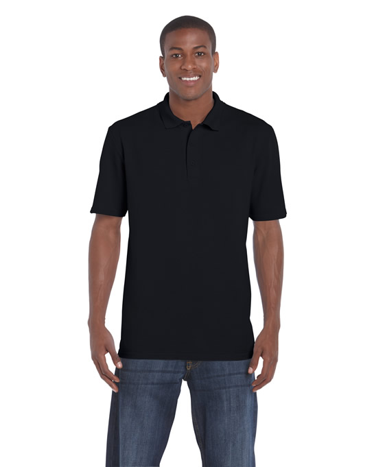 Koszulka Polo DryBlend Classic Fit Pique Adult GILDAN 94800 - Gildan_94800_02 - Kolor: Black