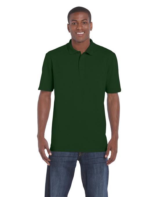 Koszulka Polo DryBlend Classic Fit Pique Adult GILDAN 94800 - Gildan_94800_05 - Kolor: Forest green
