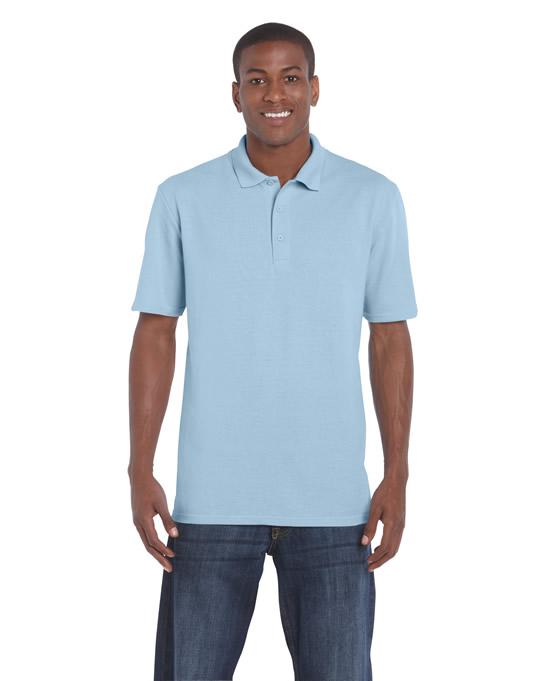 Koszulka Polo DryBlend Classic Fit Pique Adult GILDAN 94800 - Gildan_94800_06 - Kolor: Light blue