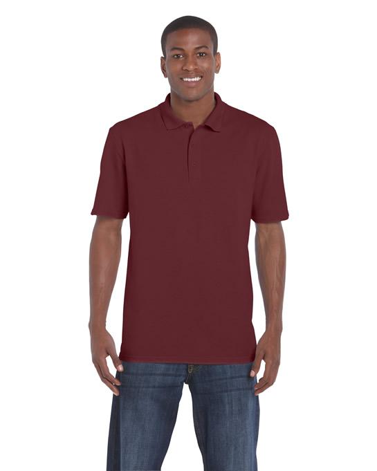 Koszulka Polo DryBlend Classic Fit Pique Adult GILDAN 94800 - Gildan_94800_07 - Kolor: Maroon