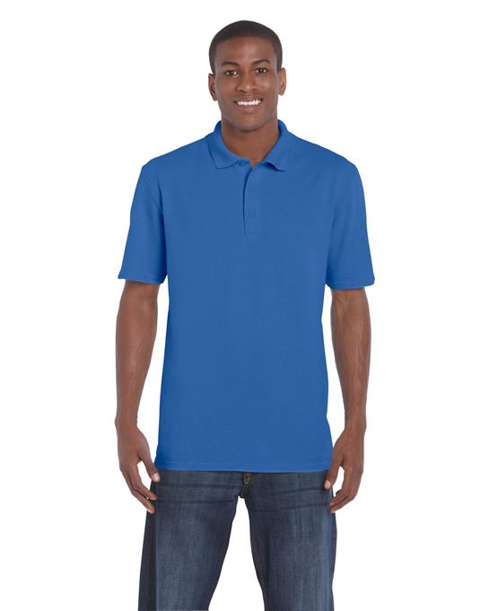 Koszulka Polo DryBlend Classic Fit Pique Adult GILDAN 94800 - Gildan_94800_10 - Kolor: Royal blue