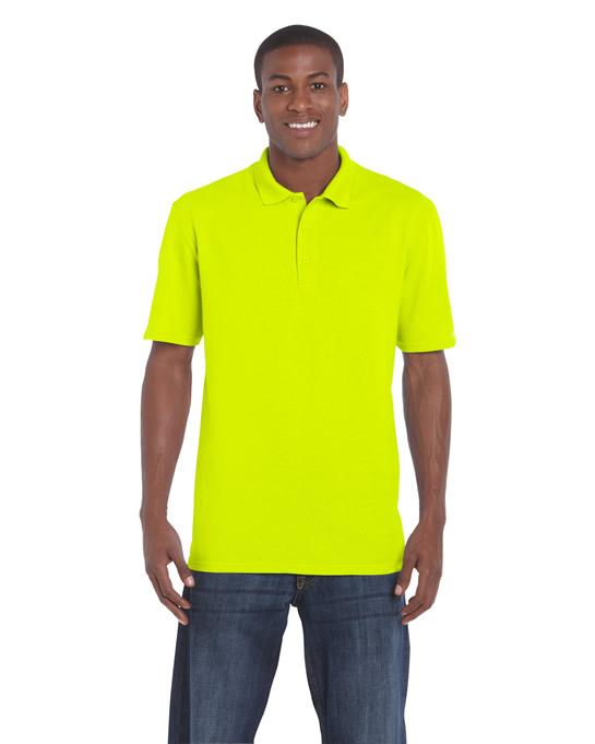 Koszulka Polo DryBlend Classic Fit Pique Adult GILDAN 94800 - Gildan_94800_11 - Kolor: Safety green