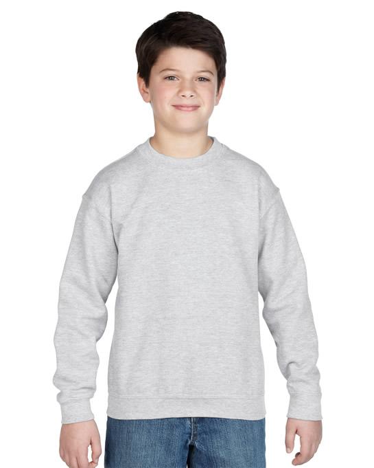 Bluza Heavy Blend Classic Fit Youth GILDAN B18000 - Gildan_B18000_02 - Kolor: Sport grey