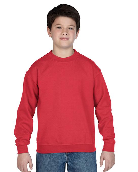 Bluza Heavy Blend Classic Fit Youth GILDAN B18000 - Gildan_B18000_09 - Kolor: Red