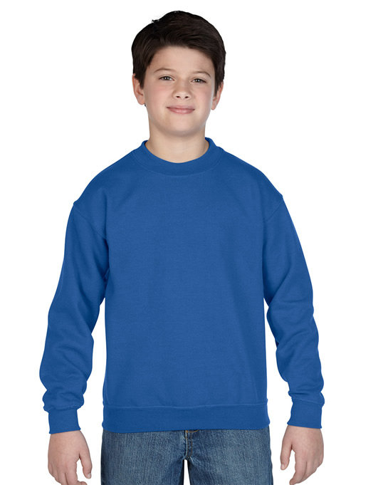 Bluza Heavy Blend Classic Fit Youth GILDAN B18000 - Gildan_B18000_01 - Kolor: Royal blue
