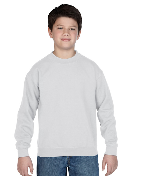Bluza Heavy Blend Classic Fit Youth GILDAN B18000 - Gildan_B18000_10 - Kolor: White