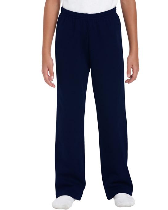 Spodnie Heavy Blend Open Bottom Youth GILDAN B18400 - Gildan_B18400_02 - Kolor: Navy