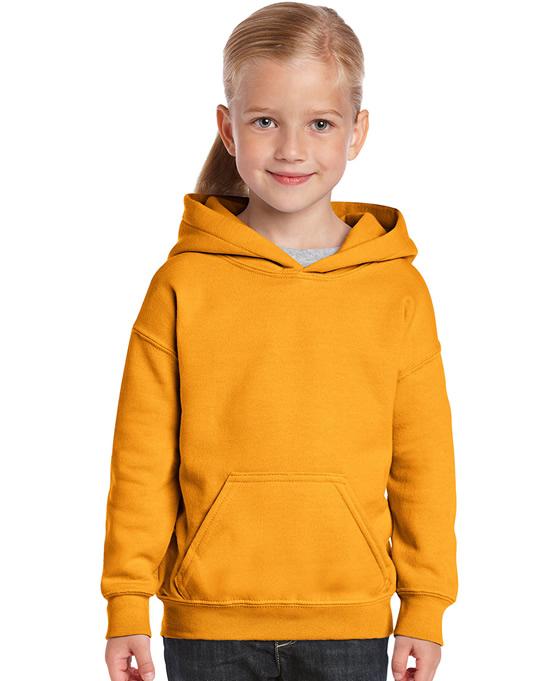 Bluza Heavy Blend Hooded Youth GILDAN B18500 - Gildan_B18500_05 - Kolor: Gold