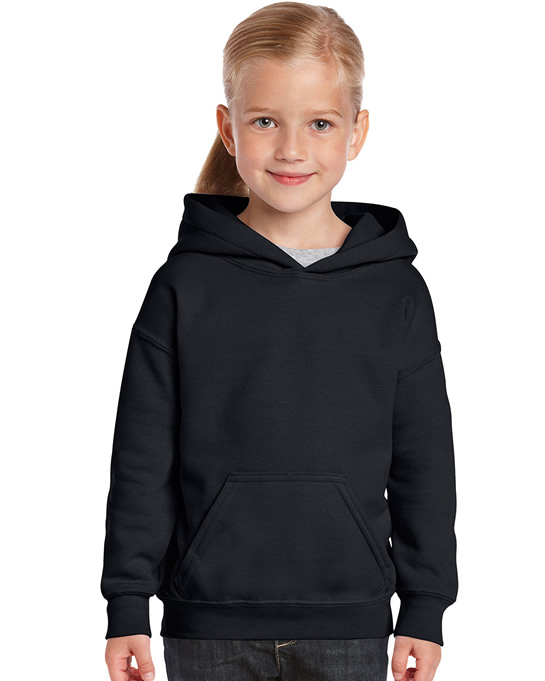 Bluza Heavy Blend Hooded Youth GILDAN B18500 - Gildan_B18500_02 - Kolor: Black