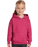 Bluza Heavy Blend Hooded Youth GILDAN B18500 - Gildan_B18500_06 Heliconia