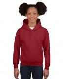 Bluza Heavy Blend Hooded Youth GILDAN B18500 - Gildan_B18500_04 Garnet