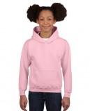 Bluza Heavy Blend Hooded Youth GILDAN B18500 - Gildan_B18500_09 Light pink