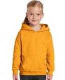 Bluza Heavy Blend Hooded Youth GILDAN B18500 - Gildan_B18500_05 Gold