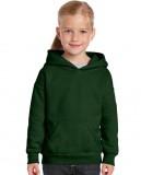Bluza Heavy Blend Hooded Youth GILDAN B18500 - Gildan_B18500_03 Forest green