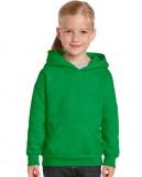 Bluza Heavy Blend Hooded Youth GILDAN B18500 - Gildan_B18500_07 Irish green