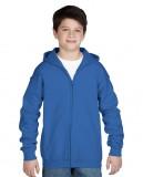 Bluza Heavy Blend Hooded Full Zip Youth GILDAN B1860 - Gildan_B18600_07 Royal blue