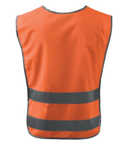 Kamizelka A 910 CLASSIC SAFETY VEST - 910_98_B - Kolor: Odblaskowo pomarańczowy