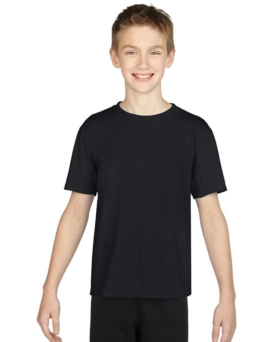 Koszulka Performance Youth GILDAN B42000 - Gildan_B42000_02 - Kolor: Black