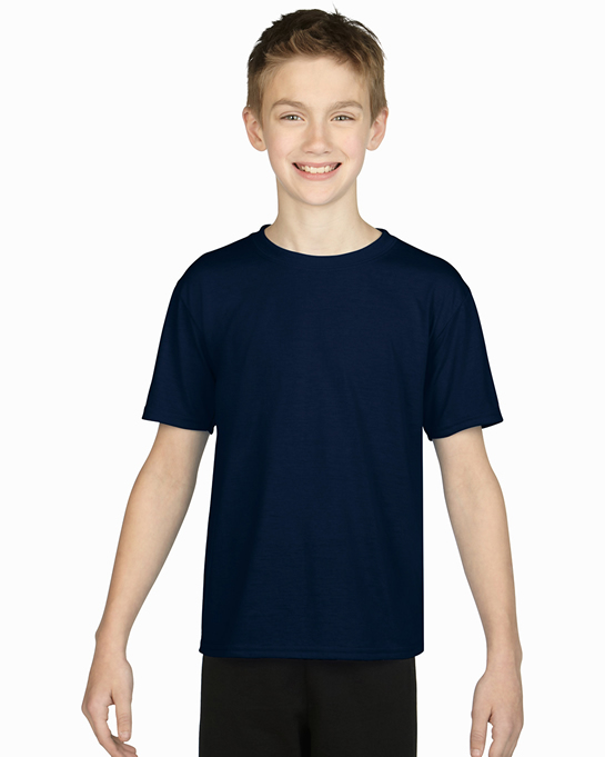 Koszulka Performance Youth GILDAN B42000 - Gildan_B42000_03 - Kolor: Navy