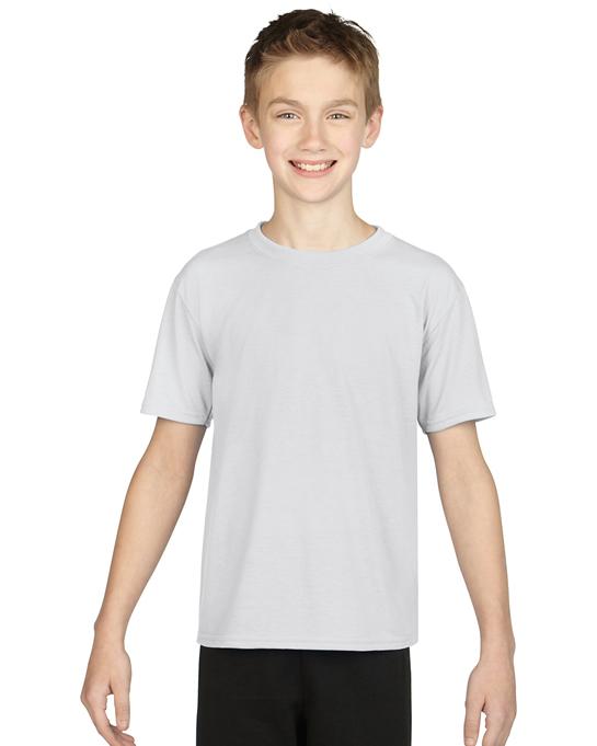 Koszulka Performance Youth GILDAN B42000 - Gildan_B42000_07 - Kolor: White