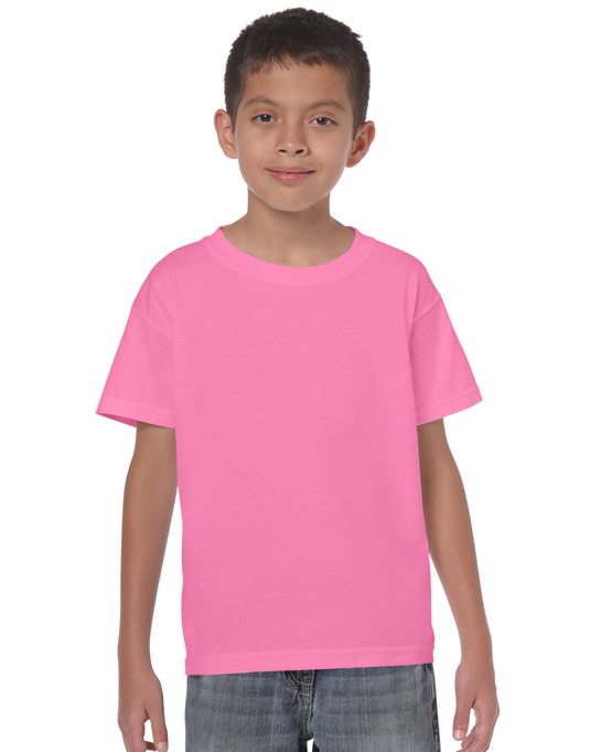 Koszulka Heavy Cotton Youth GILDAN B5000 - Gildan_B5000_01 - Kolor: Azalea