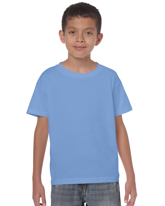 Koszulka Heavy Cotton Youth GILDAN B5000 - Gildan_B5000_05 - Kolor: Carolina blue