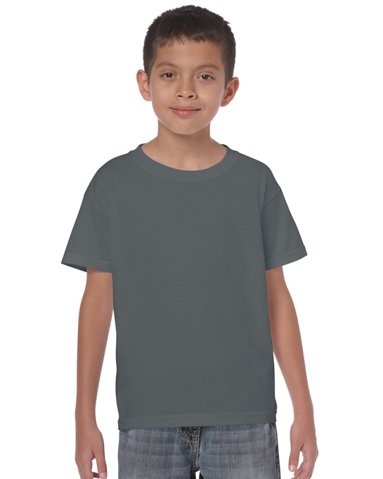 Koszulka Heavy Cotton Youth GILDAN B5000 - Gildan_B5000_06 - Kolor: Charcoal