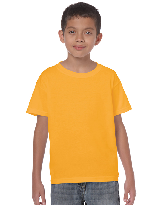Koszulka Heavy Cotton Youth GILDAN B5000 - Gildan_B5000_10 - Kolor: Gold