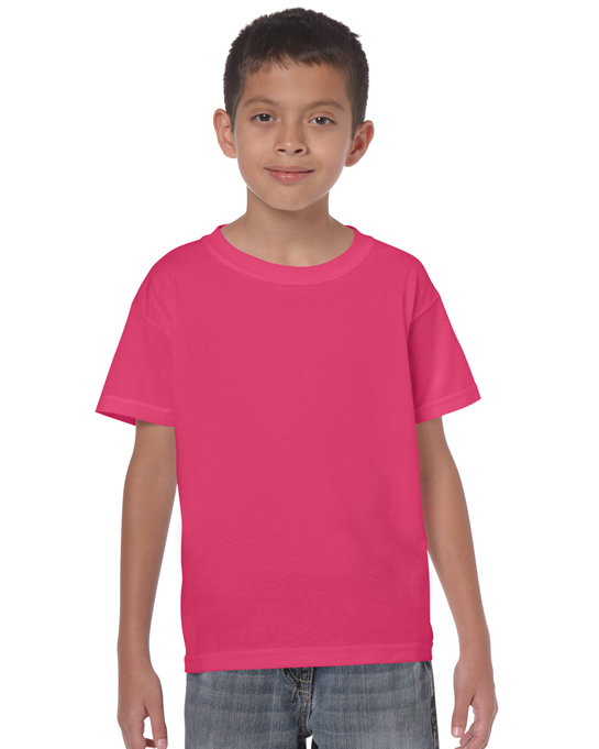 Koszulka Heavy Cotton Youth GILDAN B5000 - Gildan_B5000_11 - Kolor: Heliconia