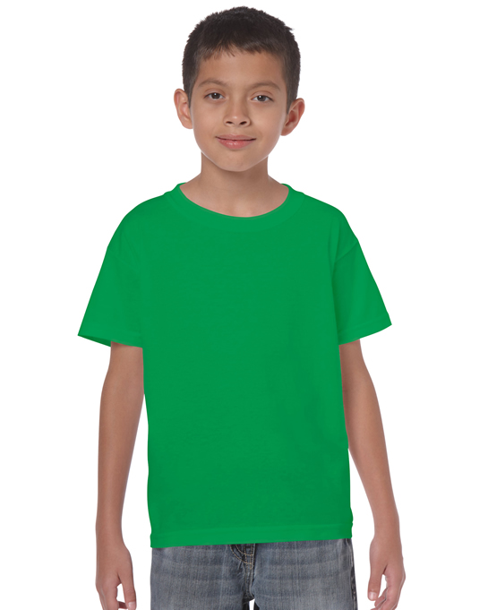 Koszulka Heavy Cotton Youth GILDAN B5000 - Gildan_B5000_13 - Kolor: Irish green