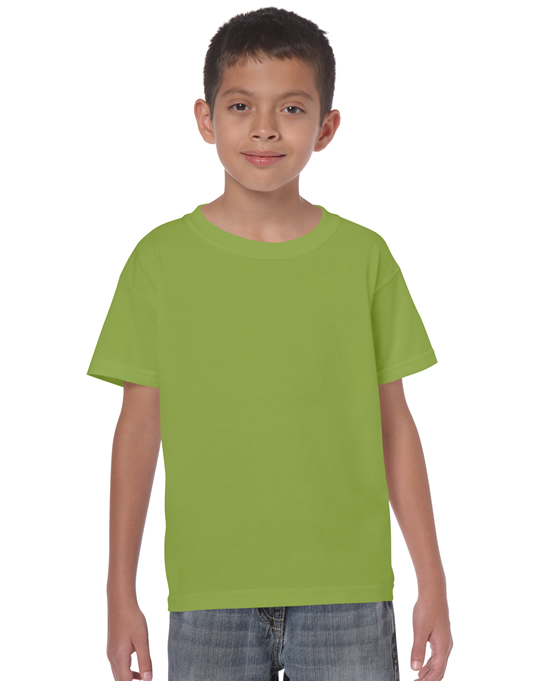 Koszulka Heavy Cotton Youth GILDAN B5000 - Gildan_B5000_14 - Kolor: Kiwi