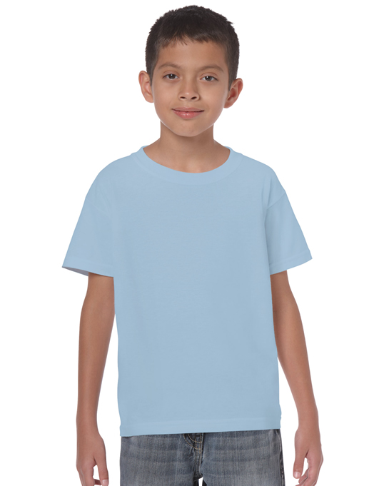 Koszulka Heavy Cotton Youth GILDAN B5000 - Gildan_B5000_15 - Kolor: Light blue