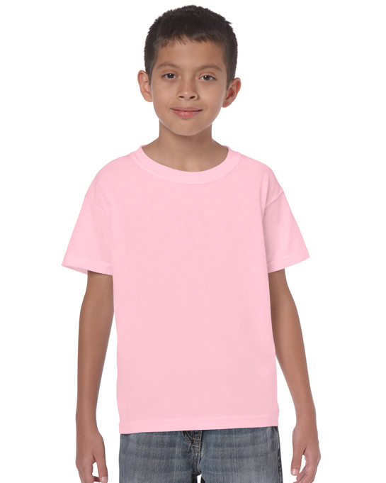 Koszulka Heavy Cotton Youth GILDAN B5000 - Gildan_B5000_16 - Kolor: Light pink