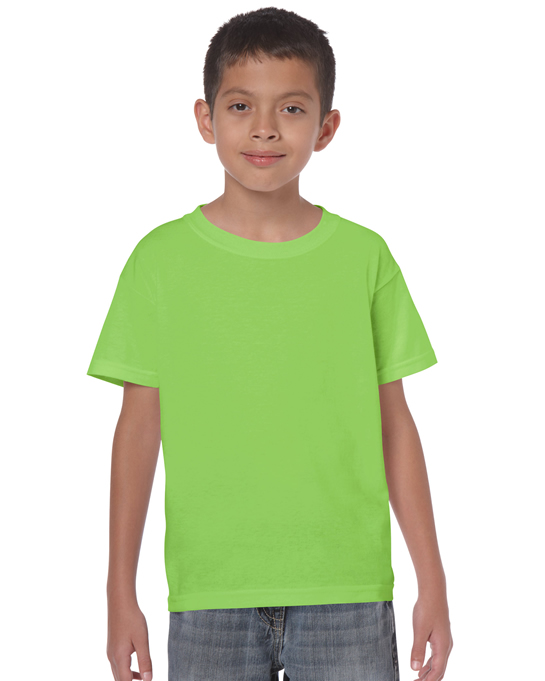 Koszulka Heavy Cotton Youth GILDAN B5000 - Gildan_B5000_17 - Kolor: Lime