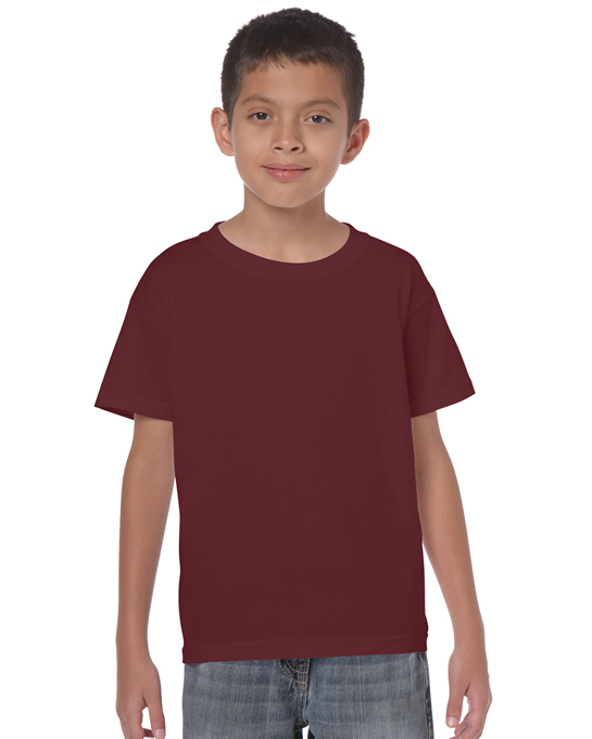 Koszulka Heavy Cotton Youth GILDAN B5000 - Gildan_B5000_18 - Kolor: Maroon