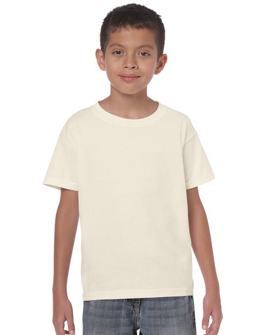Koszulka Heavy Cotton Youth GILDAN B5000 - Gildan_B5000_21 - Kolor: Naturalny