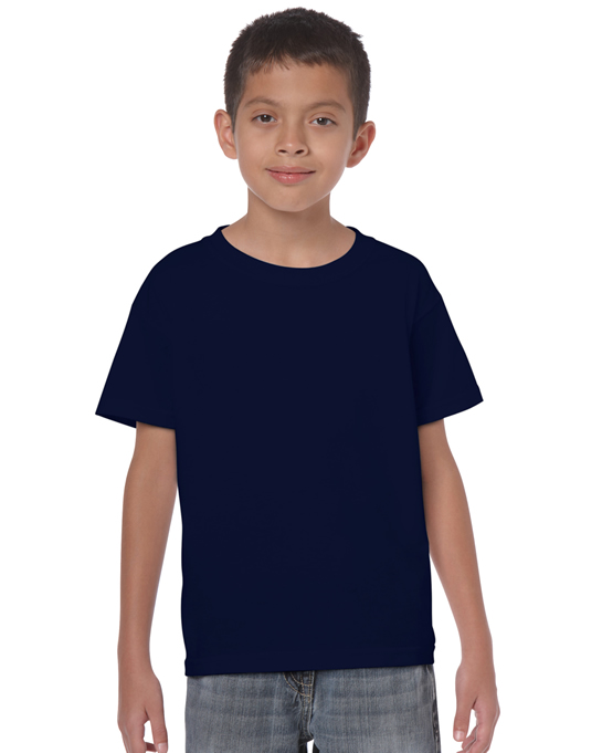 Koszulka Heavy Cotton Youth GILDAN B5000 - Gildan_B5000_22 - Kolor: Navy